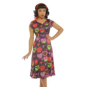 Lindy Bop Poison Apple Dress